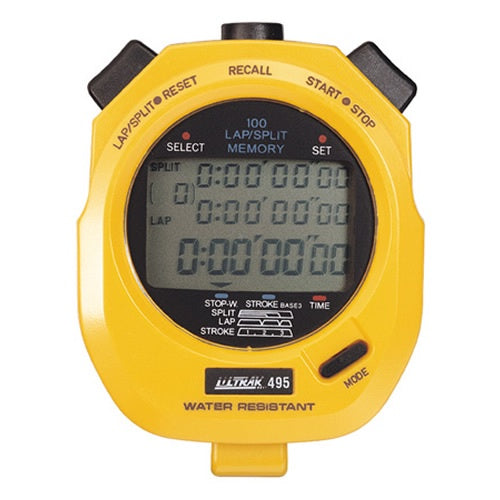 ULTRAK 495 STOPWATCH PROF-100 LAP
