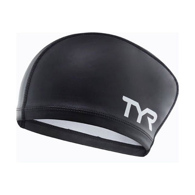 LONG HAIR SILICONE COMFORT CAP BLACK TYR