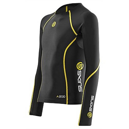 COMPRESSION TOP L/SLEEVE A200 YOUTH SKINS