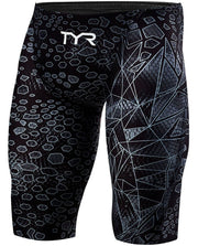 MENS AVICTOR VENOM RACING JAMMER BLACK GREY TYR