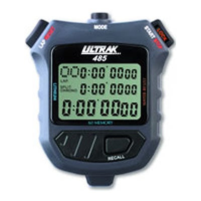 ULTRAK 485 STOPWATCH 60 MEMORY