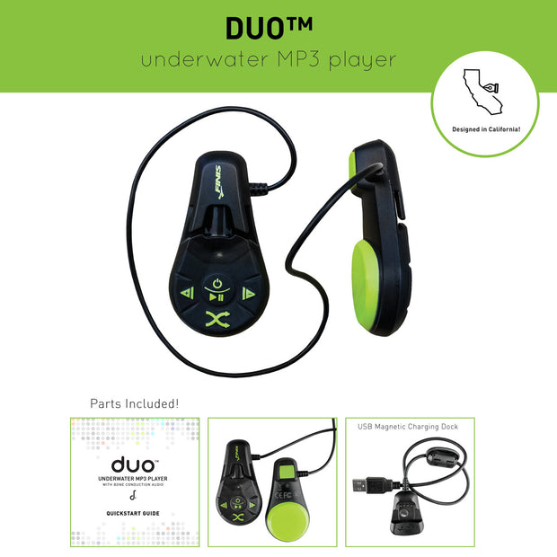 DUO UNDERWATER MP3 PLAYER FINIS