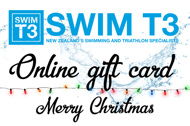 Swim T3 Christmas Gift Card