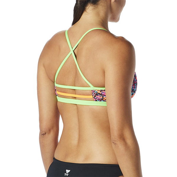 MOTUS TRINITY FIT PINK/MULTI TOP TYR