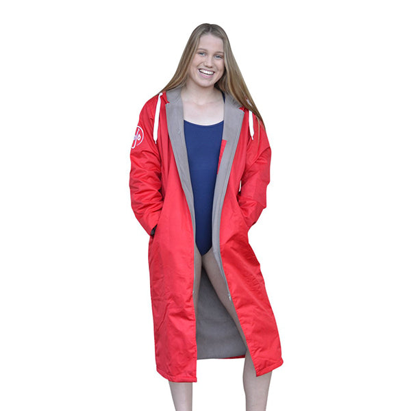 SPORT PARKA WATERPROOF - FIRE ENGINE RED