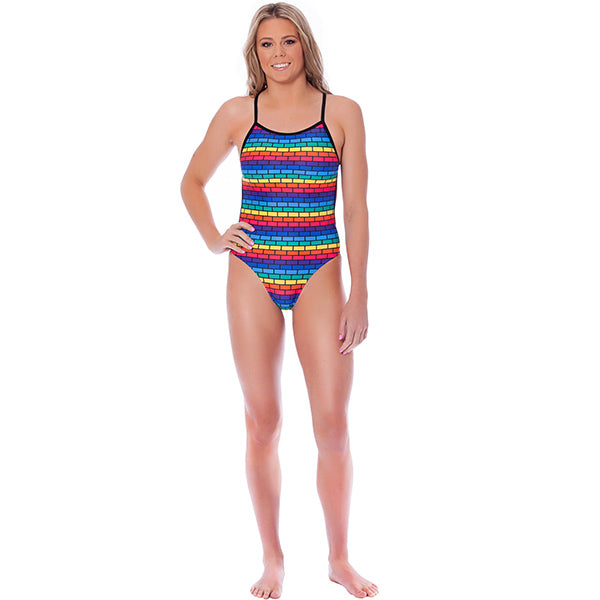 WOMENS FOLLOW ME ONE PIECE ZEALOUS