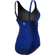 WOMENS MANTRA V-NECK CONTROLFIT BLUE TYR