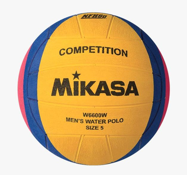 MIKASA WATERPOLO BALL MENS W6000W SIZE 5