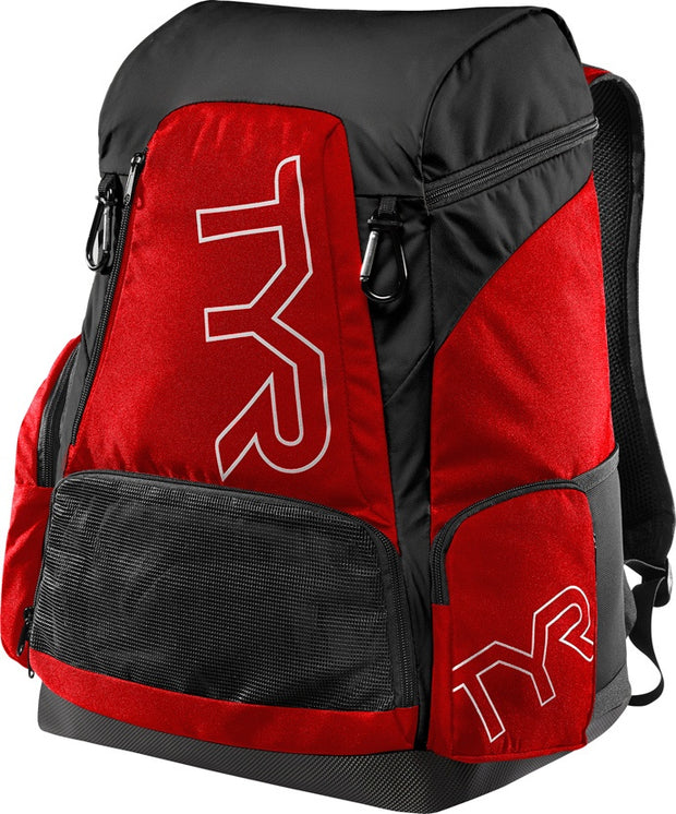 TYR ALLIANCE 45L BACKPACK -RED/BLACK