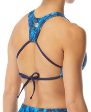 WOMENS ROYAL KAMALI KIRA TOP & DELLA BOYSHORT TYR