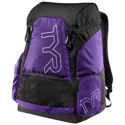 TYR ALLIANCE 45L BACKPACK - PURPLE/BLACK