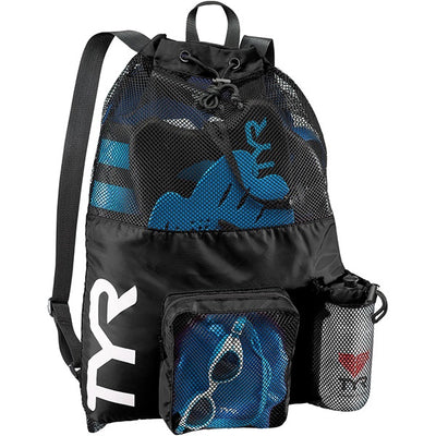 BIG MESH MUMMY BACKPACK TYR - BLACK