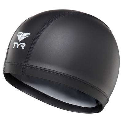 BLACK WARMWEAR SWIM CAP TYR