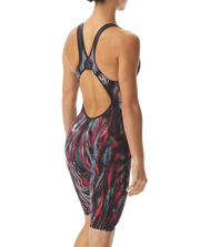 VENZO GENESIS OPEN BACK KNEESKIN TYR - STEEL RED