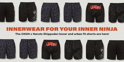 Hey Naruto fans, here's some innerwear for your inner ninja!