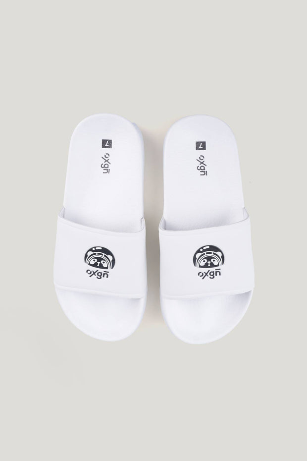 Ladies' Space Panda Single Band Sliders