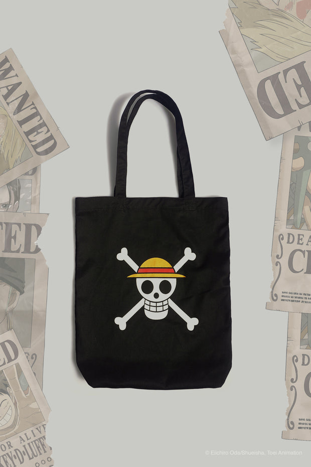 One Piece x OXGN Skull Tote Bag