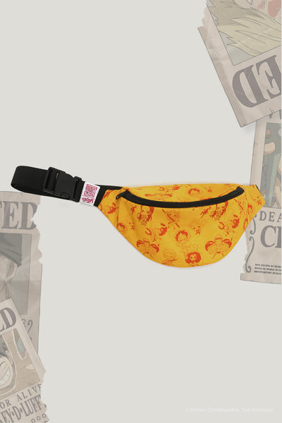 One Piece x OXGN Bum Bag With Straw Hat Crew All Over Print