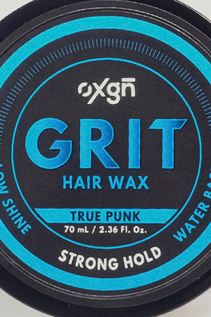 Grit True Punk Hair Wax (Strong Hold & Low Shine)