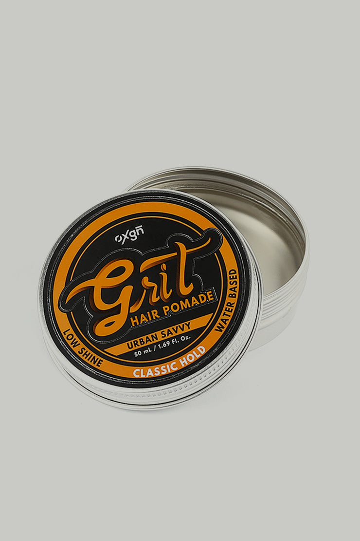 Grit Urban Savvy Hair Pomade (Medium Hold & Low Shine)