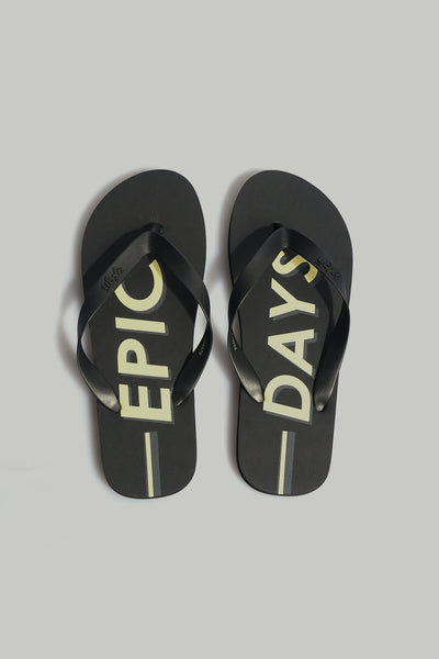 Men's Epic Days Printed Flip Flops