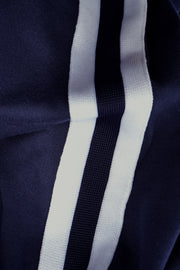 Premium Threads Track Pants With Side Stripes