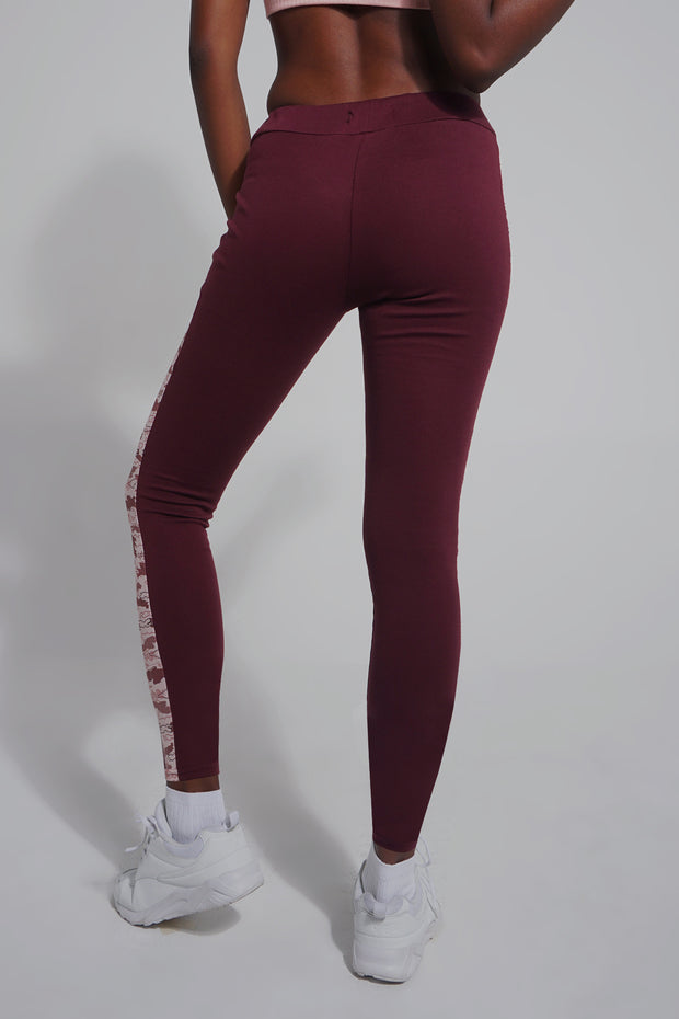 Premium Threads Leggings With Contrast Panels
