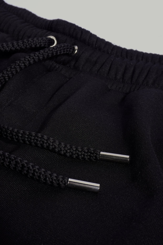 Premium Threads Slim Trackpants With Cut & Sew Detail