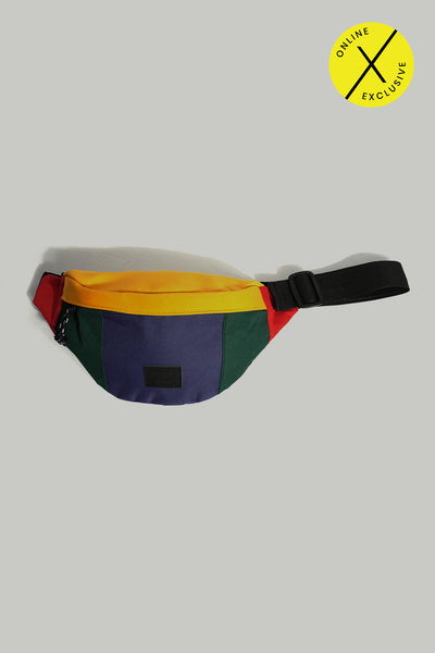 Color-Block Regular Sized Bum Bag