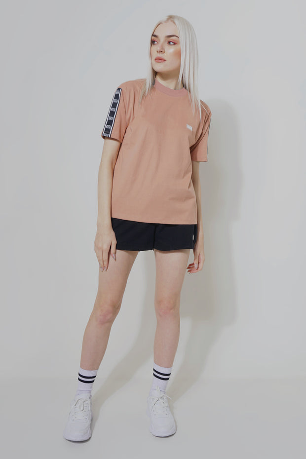 Premium Threads Oversized Fit Tee With Printed Taping