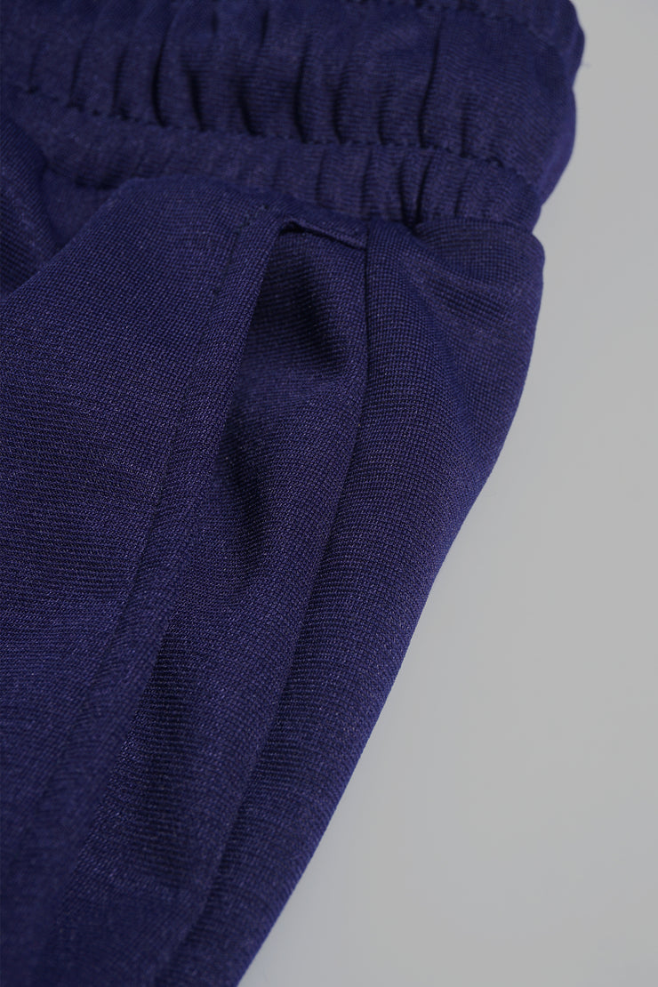 Premium Threads Slim Trackpants With Color Blocking