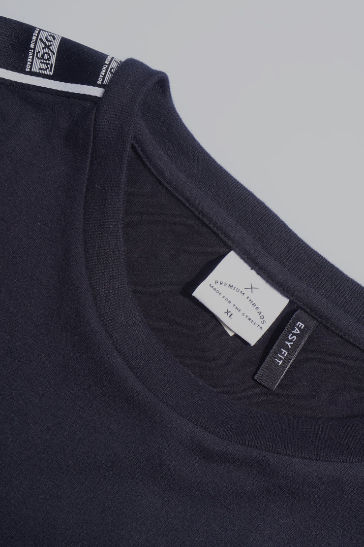 Premium Threads Easy Fit Tee With Contrast Taping