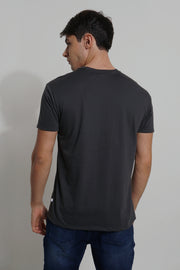 Easy Fit Tee With Pocket Detail