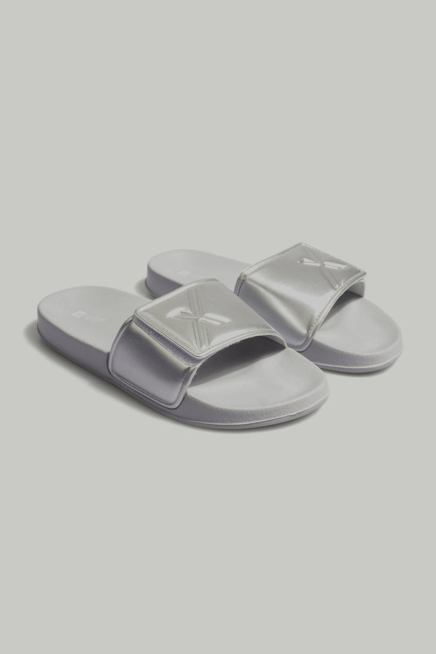 Ladies' X Logo Velcro Sliders