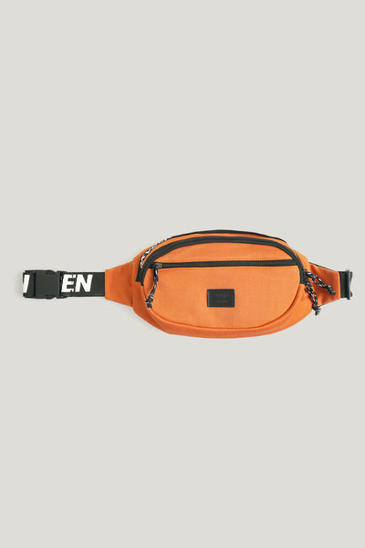 Oxygen Bum Bag With Printed Strap Detail