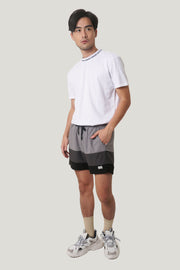 Premium Threads Board Shorts With Color Blocking