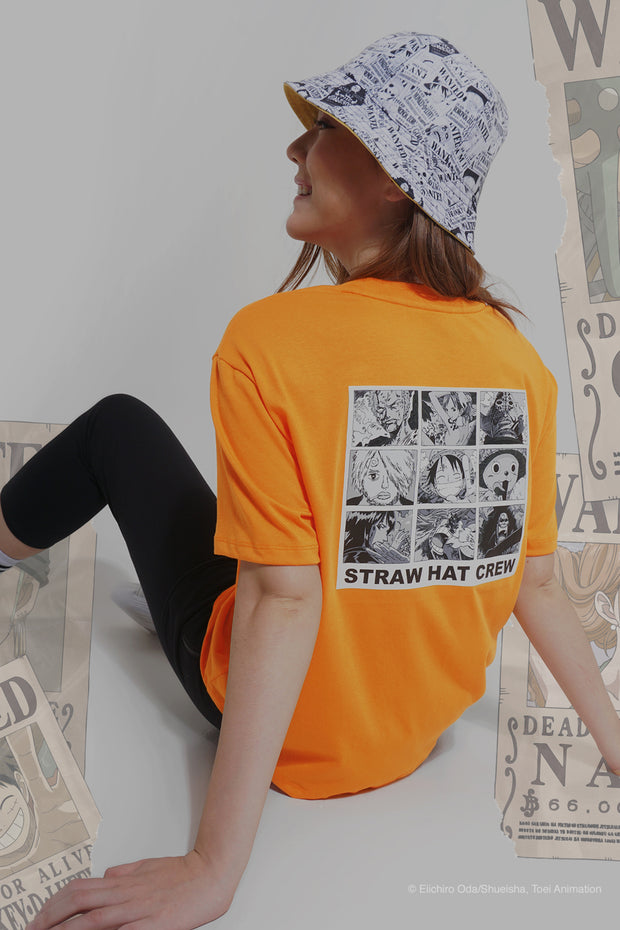 One Piece Oversized Fit Tee With Graphic Print