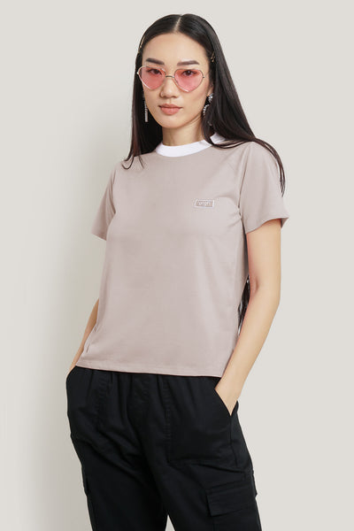 OXGN Regular Fit Tee With Embroidery