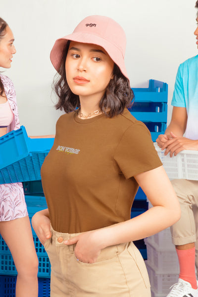 Bon Voyage Regular Fit Tee With Special Print