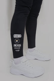 One Piece x Oxgn High Waist Track Pants With Graphic Print