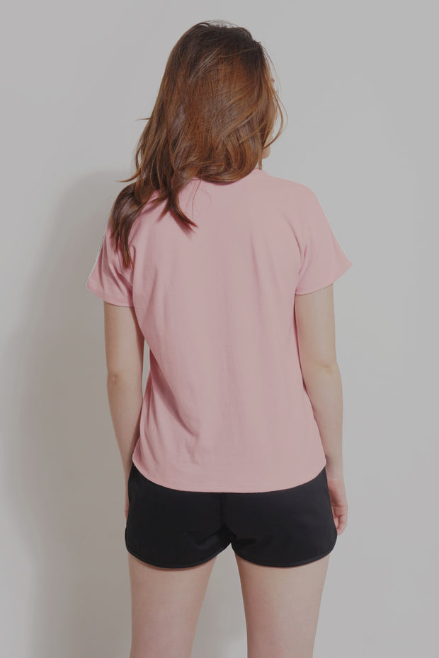 Premium Threads Regular Fit Tee With Taping