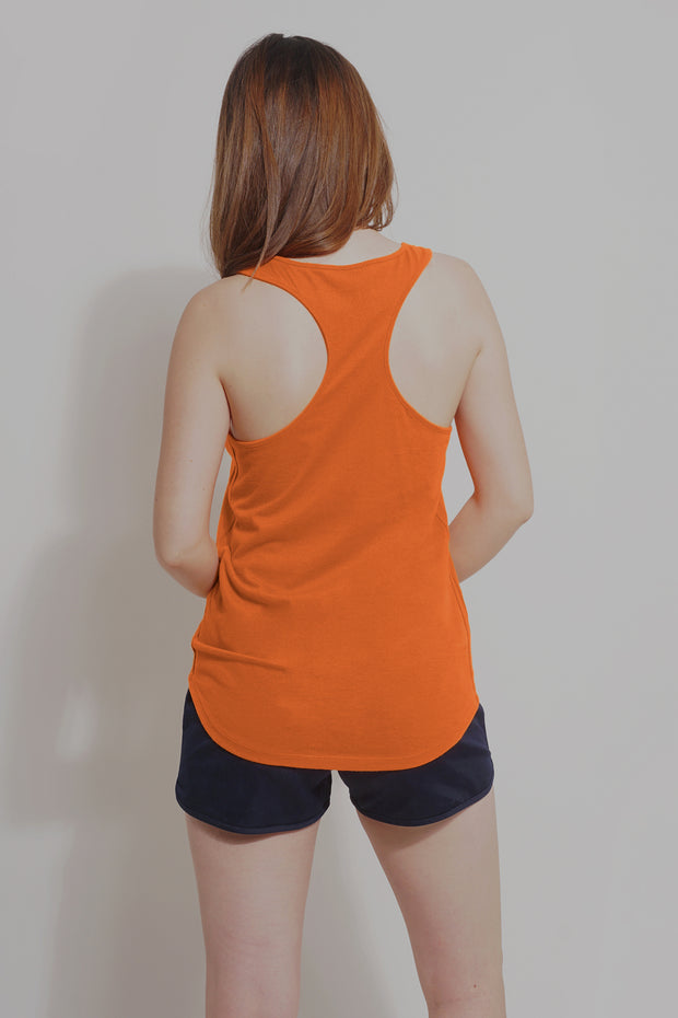 Premium Threads Tank Top With Embroidery