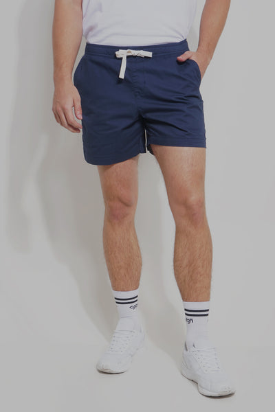 Woven Urban Shorts With Embroidery