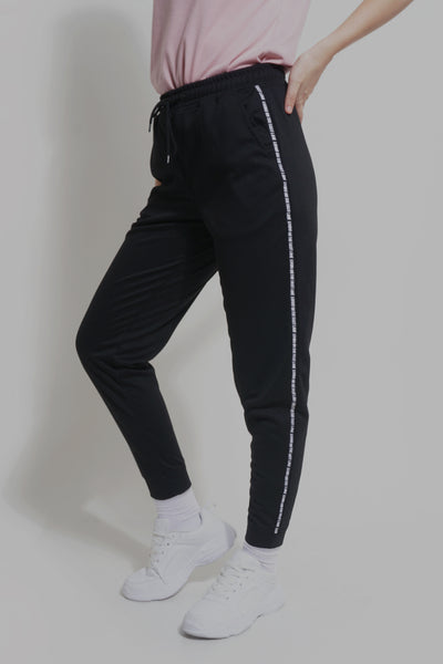 Living On The Fast Lane Mid Waist Track Pants
