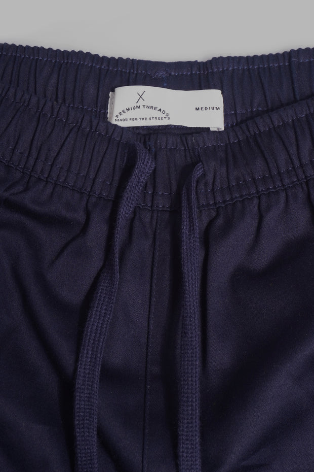 Premium Threads Mid Waist Runners With Embroidery
