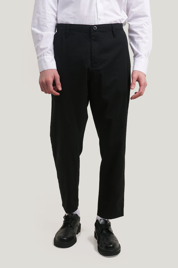 COED Slim Trousers With Embroidery