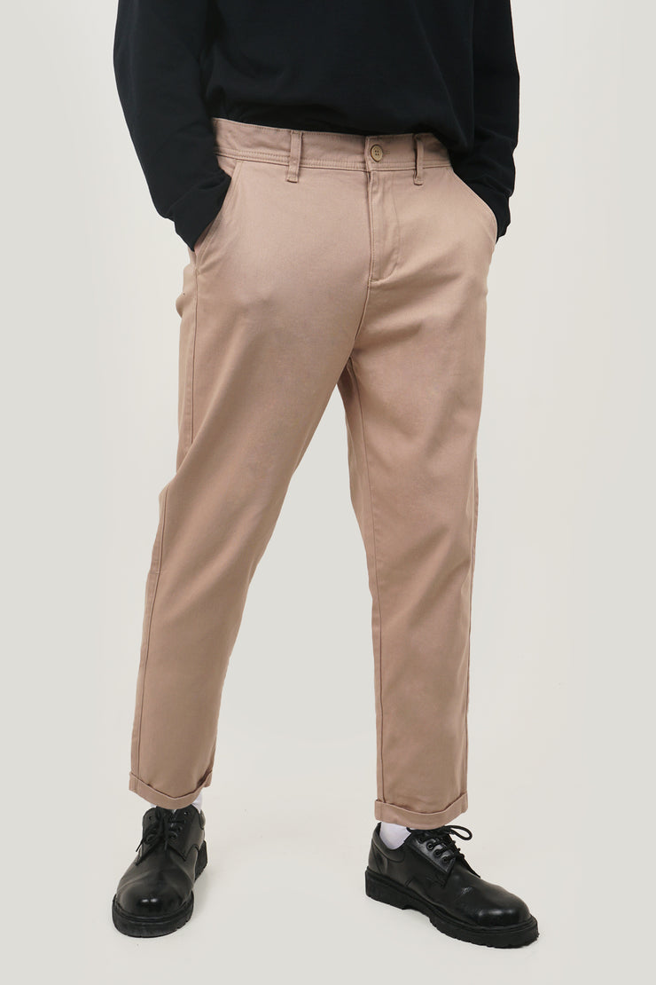 COED Slim Trousers With Elastic Waistband