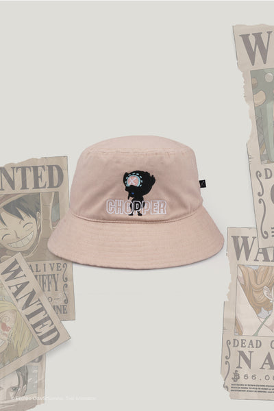 One Piece x OXGN Bucket Hat With Chopper Embro