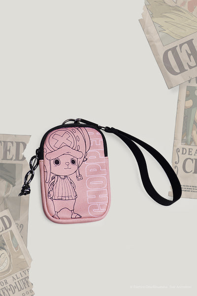 One Piece Coin Purse With Chopper Flat Print