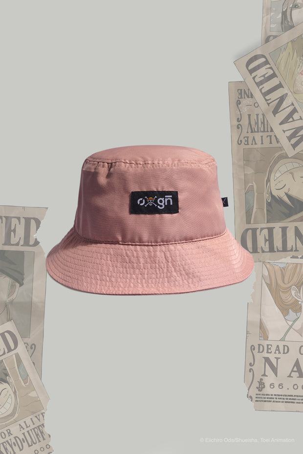One Piece x OXGN Bucket Hat With Woven Patch